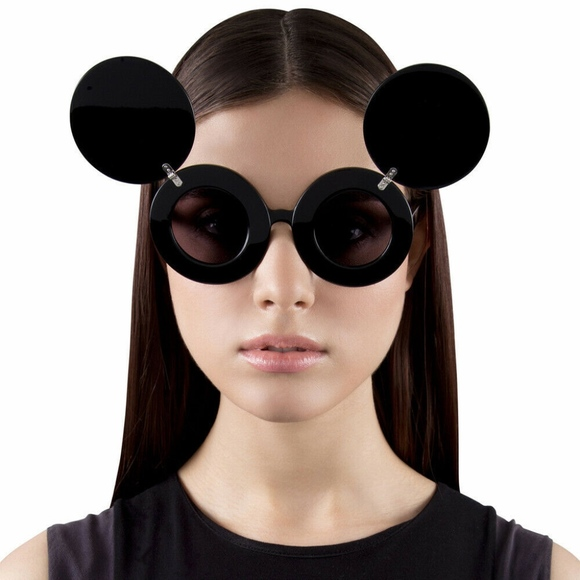 5a28bcbe71f2 Jeremy Scott Accessories | Linda Farrow Mickey Mouse Sunglasses ...